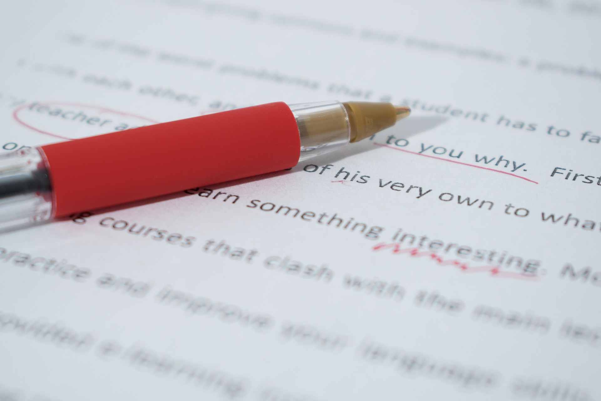 Watermark Events offers content proofreading services